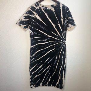 DKNY Tie Dye athliesure athletic T-shirt dress